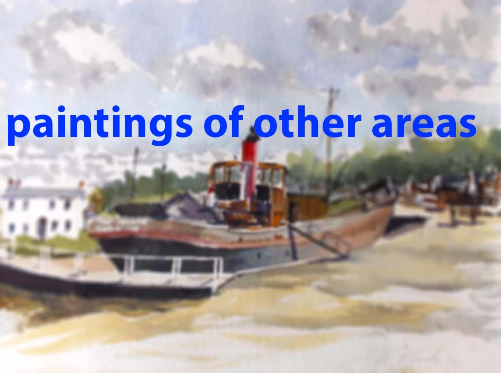 buy paintings of liverpool, paintings of river mersey